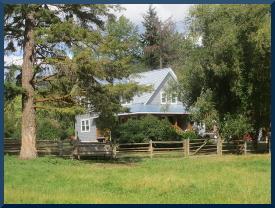 to a farm homestead